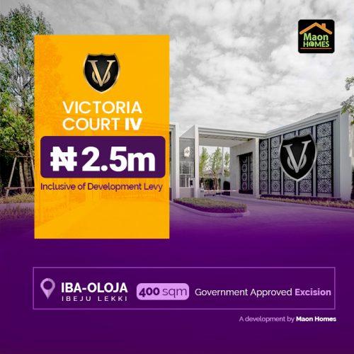 VICTORIA COURT IV FLYER 2.5M